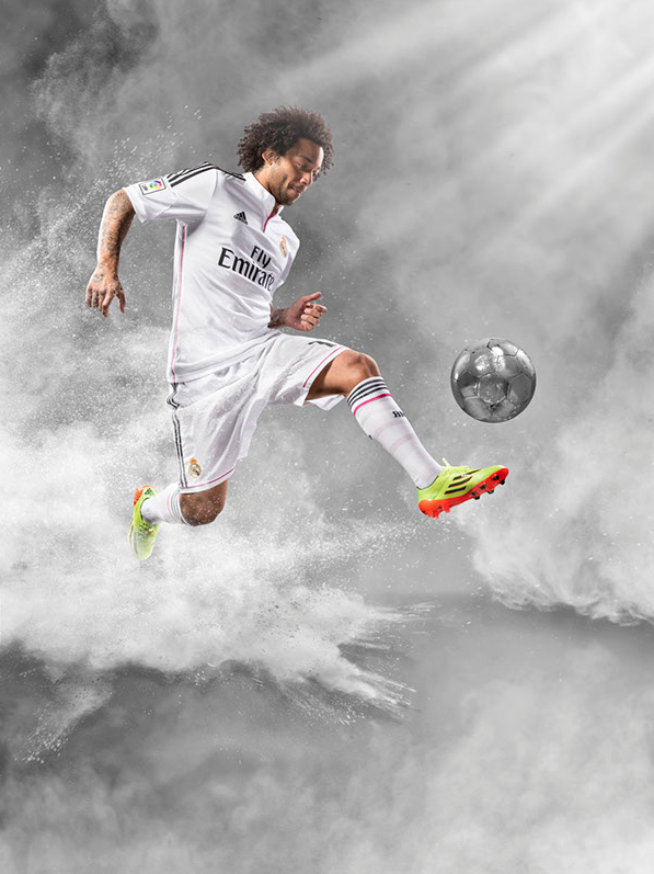Campaign: adidas with Marcelo Vieira from Real Madrid FC gallery