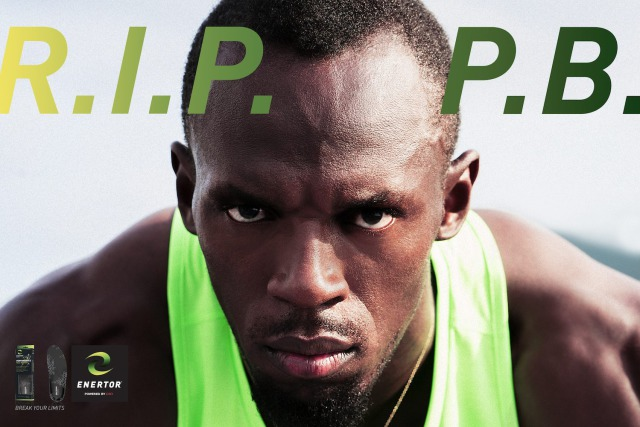 Photographer: Chris Dodd for Enertor feat. Usain Bolt gallery