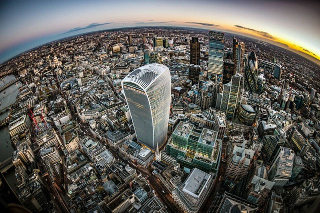 Walkie Talkie - Fish eye gallery
