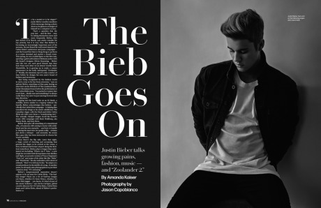 WWD Women's Wear Daily NY Justin Beiber gallery