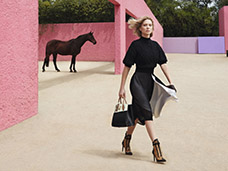 Photo Production cover by El Sol Azul - Photo: Patrick Demarchelier for Louis Vuitton, feat. Léa Seydoux