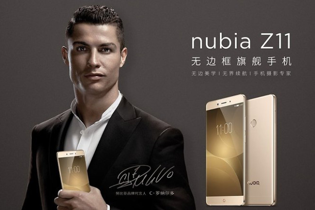 Client: Nubia with Cristiano Ronaldo gallery