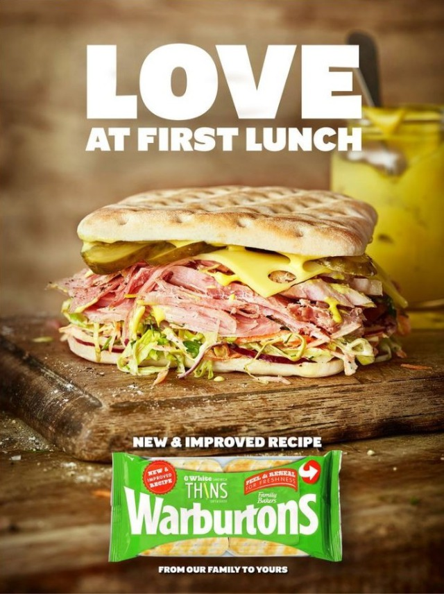 Food Styling: Rosie Scott for Warburtons - Photo: Scott Grummett gallery