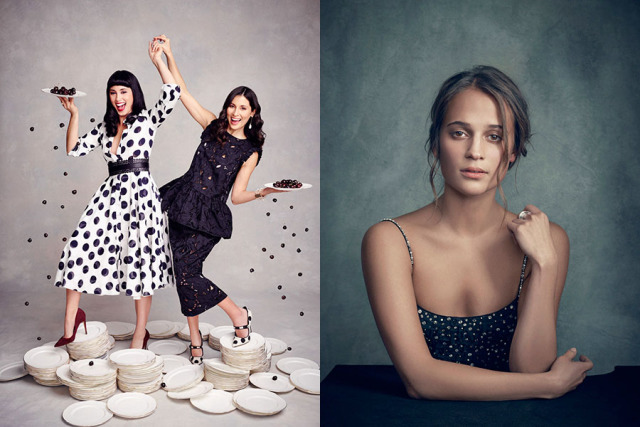 The Hemleys / Alicia Vikander gallery