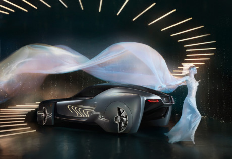 Client: Rolls-Royce vision next 100  gallery