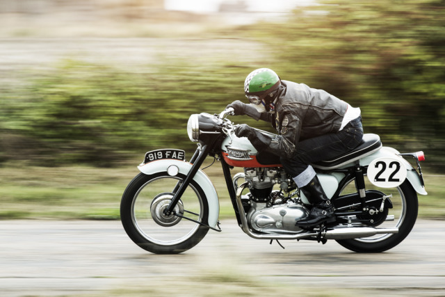 Photographer: Andreas Kleiberg for Triumph gallery