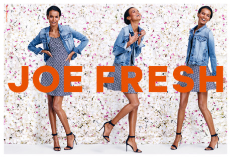 Joe Fresh Spring Campaign gallery