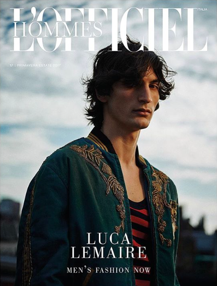 Client: L'Officiel Hommes by Serge Leblon gallery