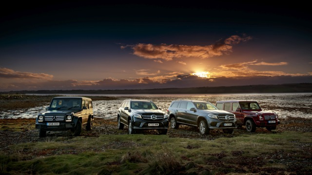 Campaign: Scotland Coast to Coast for Mercedes gallery