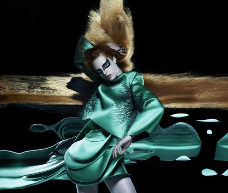 Garage Magazine, Style, Shoot, Draw by Nick Knight gallery