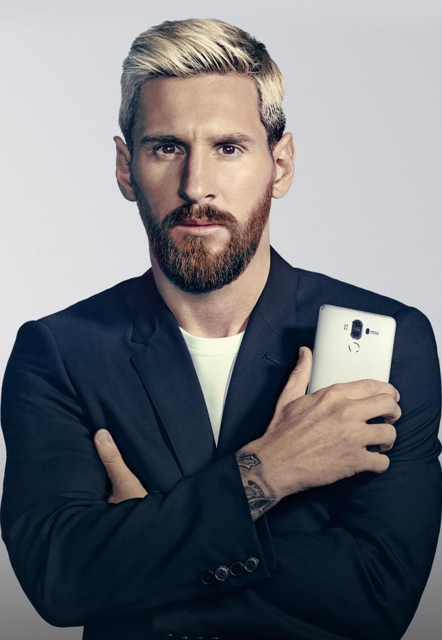 Campaign: Huawei with Messi gallery