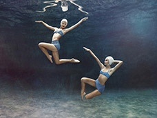 Underwater Photography and Motion cover by Rebecca Handler
