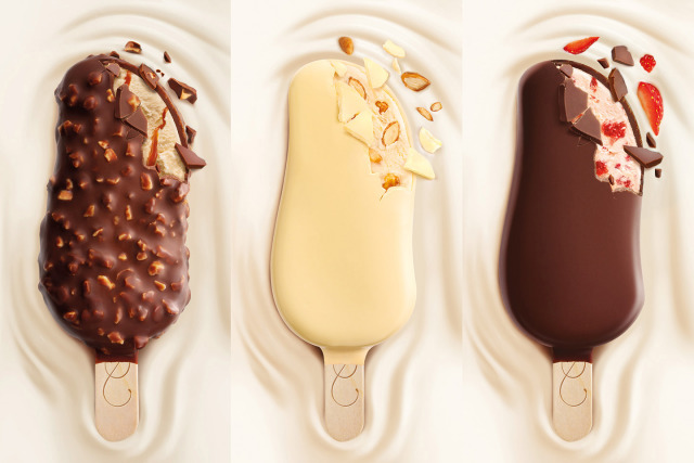 Ice cream sticks for Häagen-Dazs  gallery