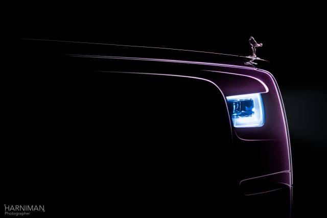 Rolls-Royce Phantom pre launch teaser gallery