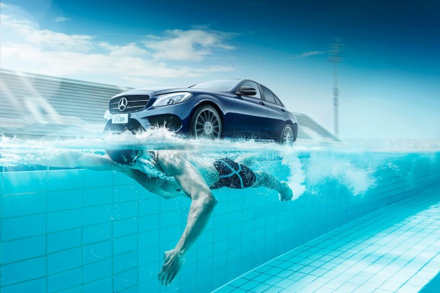 2017 C-Class campaign shot for Mercedes-Benz gallery