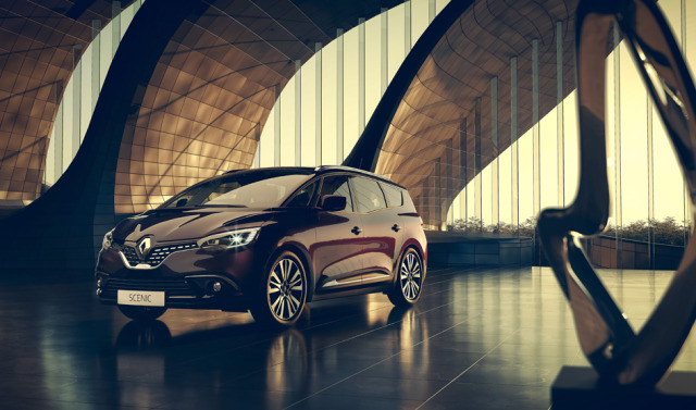 Renault Scenic in Modern Architecture gallery