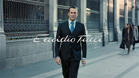 El Corte Inglés - Emidio Tucci 'The perfect man' by Jean Claude Thibaut - feat. Jon Hamm gallery