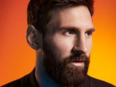 Portraiture and Celebrity Photography Spotlight Cover by Shamil Tanna, rep. by VUE featuring Lionel Messi