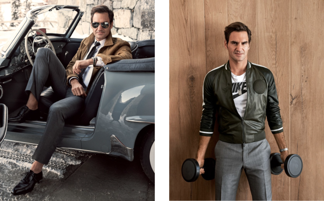 Roger Federer for GQ gallery