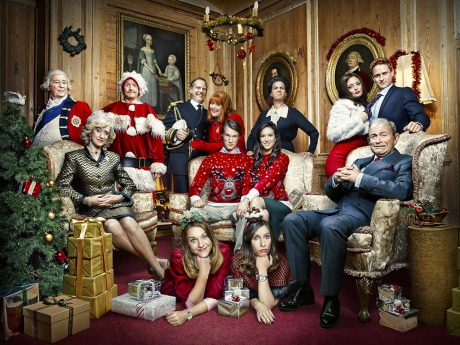 ''The Windsors Christmas Special'' photographed for Channel 4 gallery