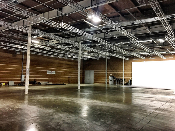 Soundstage North, 16,000 Square Feet and 24' ceilings