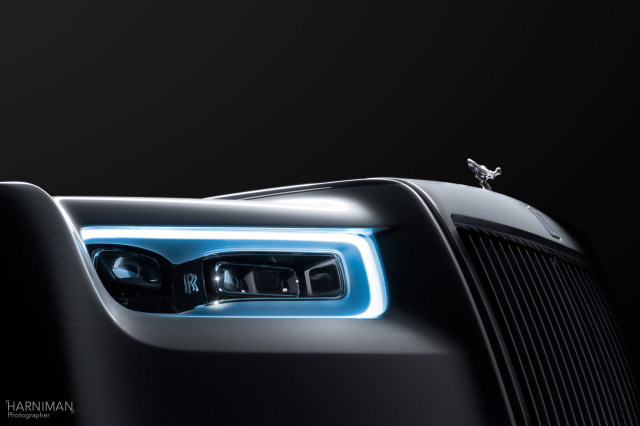 Rolls-Royce Phantom launch gallery