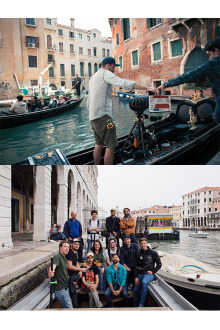 around venice production