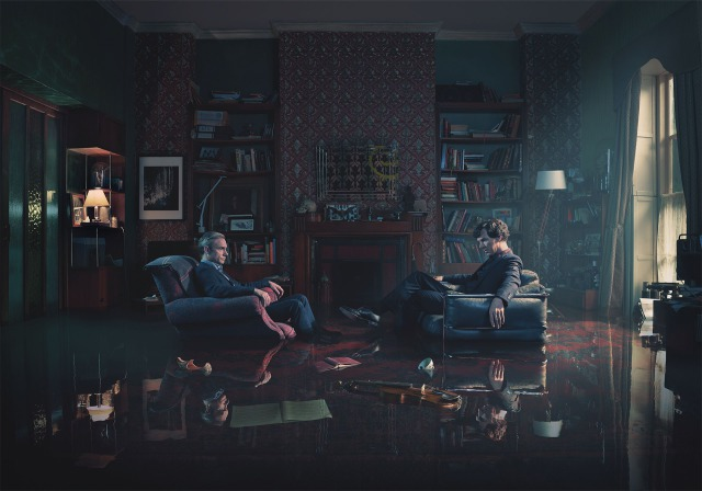 Sherlock Season 4 - ''Rising Tide'' Iconic gallery