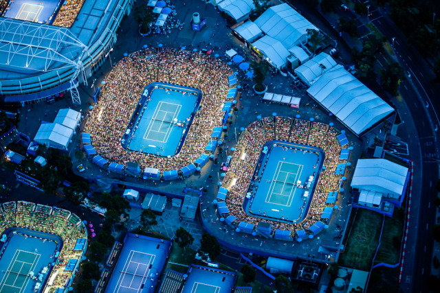 Client: The Australian Open  gallery