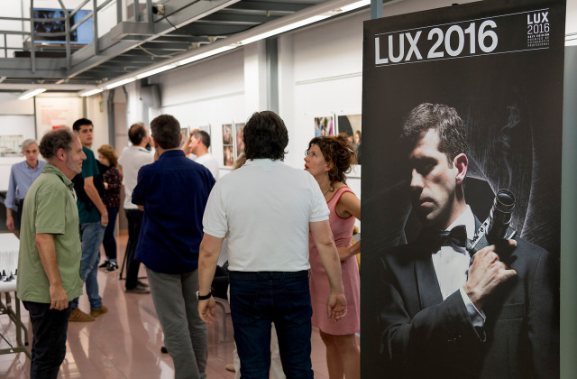 LUX Exhibition in IEFC © Joan Ribó gallery