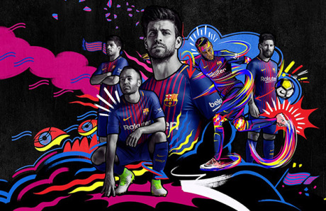 Campaign: FC Barcelona Kits gallery