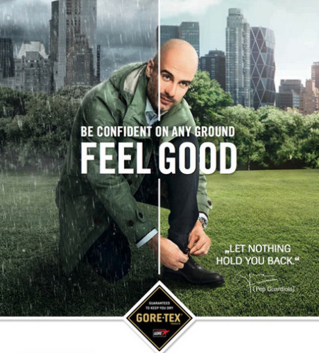 Pep Guardiola for Gore gallery