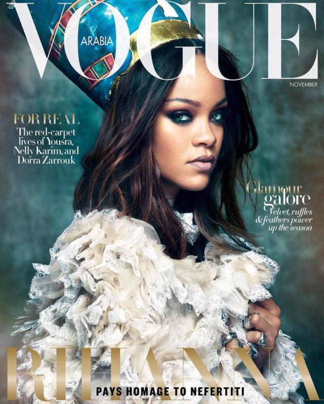 VOGUE Arabia with Rihanna by Greg Kadel gallery