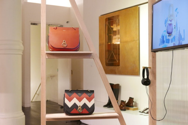Retail Display for Mulberry gallery