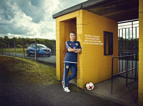 Jo Love, Scotland Football. Vauxhall / Marcus Mays Productions gallery
