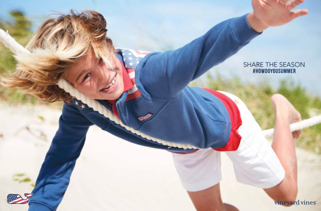 Photographer: Matt Albiani for Vineyard Vines gallery