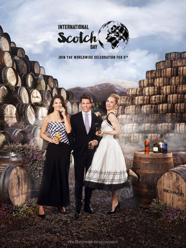 Client: Diageo - International Scotch Day gallery