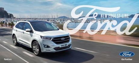 Ford Edge SUV Pan European 48 sheet poster campaign gallery