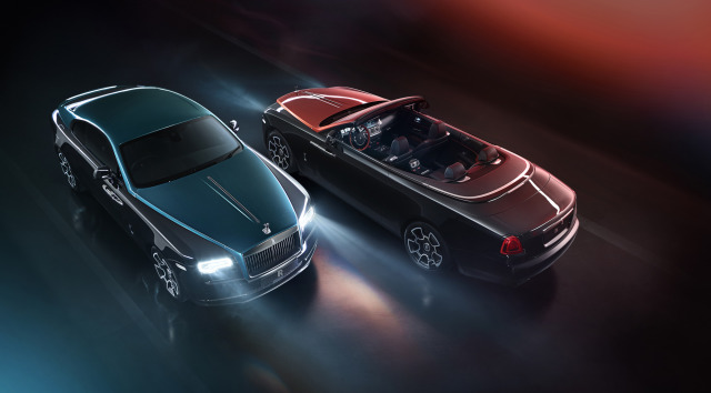 Rolls-Royce Adamas Collection Black Badge Dawn & Wraith gallery