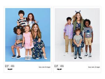 Client: GAP Kids featuring Sarah Jessica Parker gallery