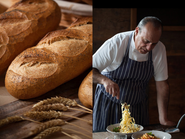 Left: BuEkmek - Right: Chef Gennaro Contaldo for Jamie's Italian Restaurant gallery