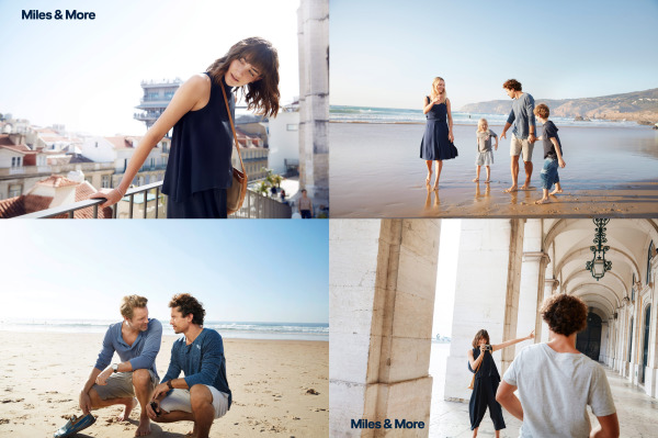 Serviceplan - Portugal - Ina Schoof c/o Bransch - campaign shot - Miles & More