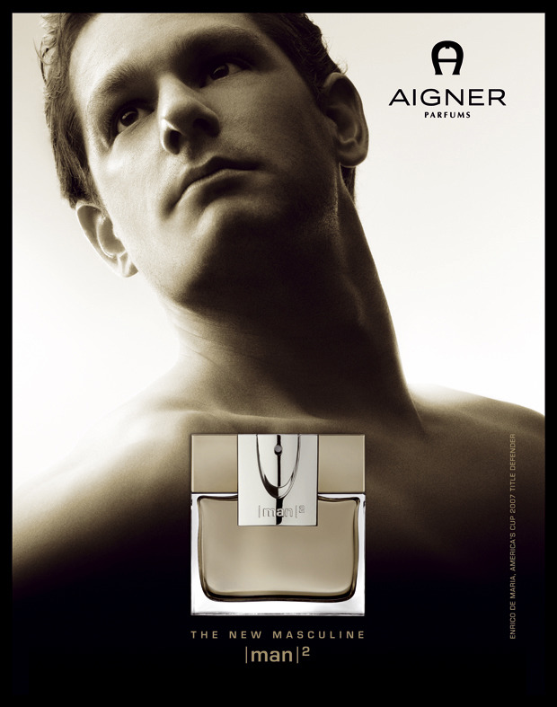 Photo: Aigner Man Perfume International Campain gallery