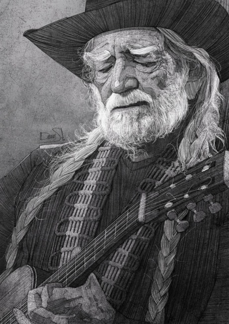 Willie Nelson for The Washignton Post gallery