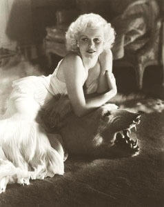 Jean Harlow by George Hurrell gallery