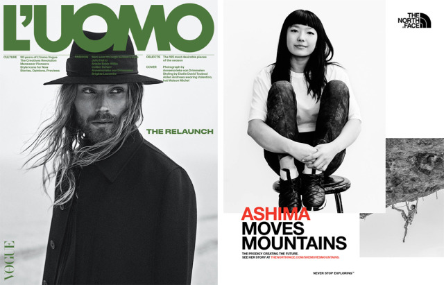 Client: L'Uomo Vogue  // The North Face gallery