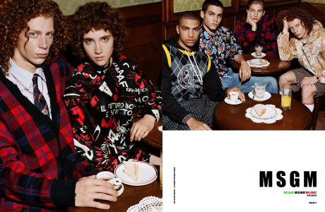 Client: MSGM gallery