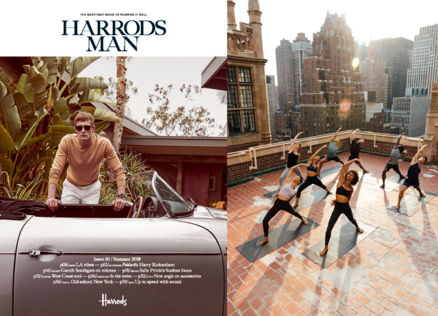 Client: Harrods Man // Lululemon gallery