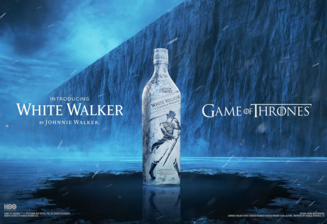 Campaign: White Walker - Johnnie Walker & Game of Thrones collaboration gallery