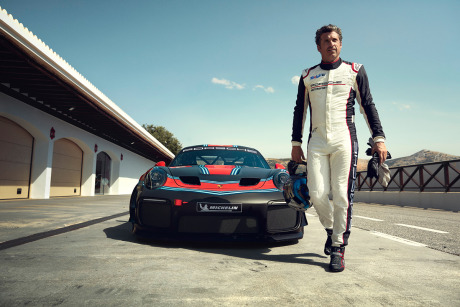 Patrick Dempsey for Porsche AG gallery